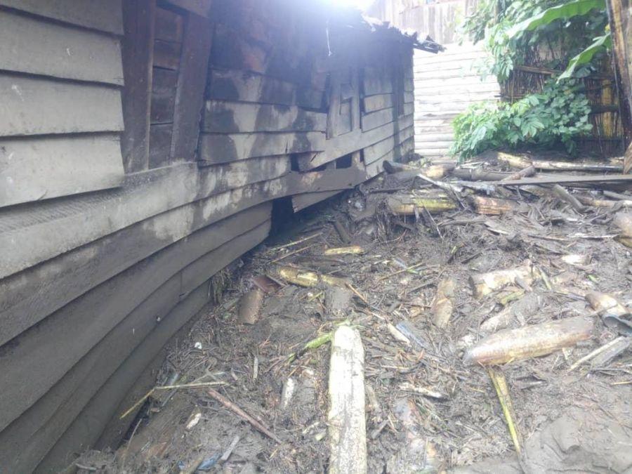 Masisi : Une rivière déborde et occasionne d'énormes dégâts matériels