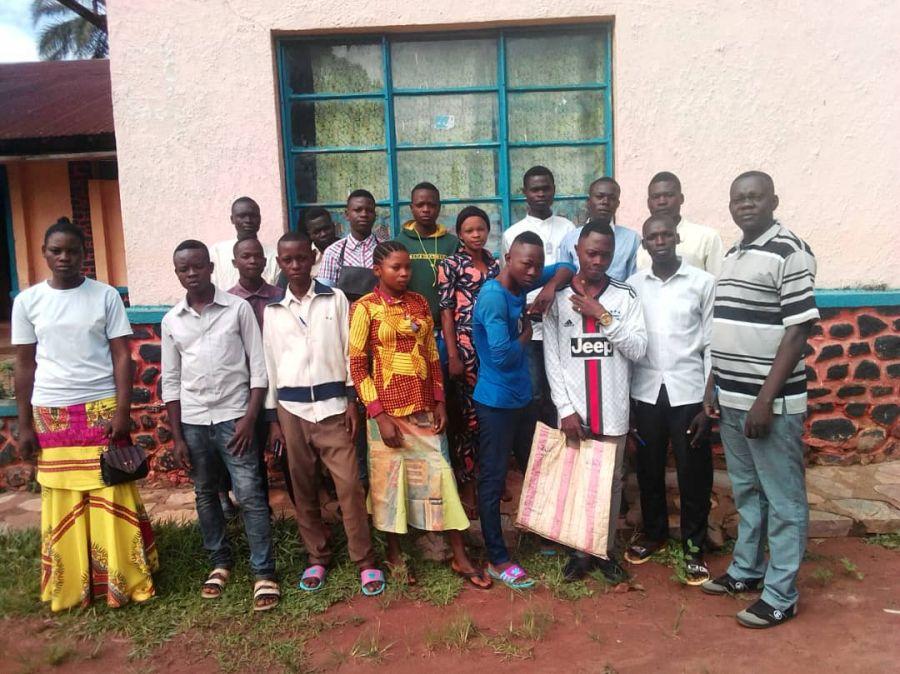 Formation des jeunes de Ngandajika en aquaculture et pisciculture