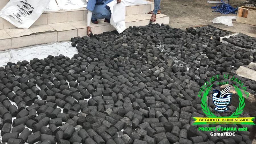 Goma : Une asbl met en œuvre un projet de vulgarisation les briquettes écologiques en base des déchets ménagers.