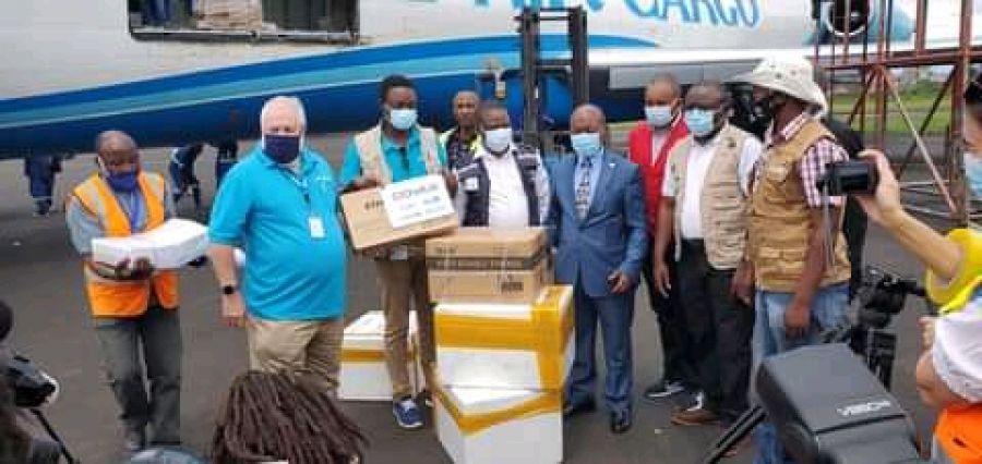 COVID-19/Nord-Kivu : 60 milles doses du vaccin Astrazeneca réceptionnées à Goma