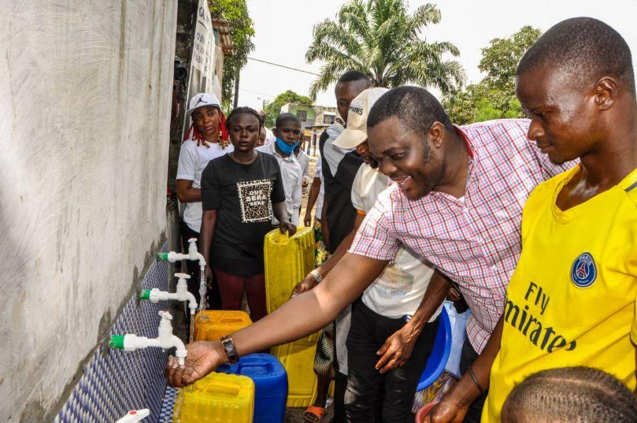 Kinshasa/N'sele : Nouveau forage d'eau inauguré à « Terre Jaune »
