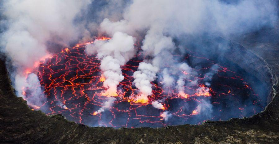 Goma: L'observatoire volcanologique rassure l'opinion face aux cendres évacuées du volcan de Nyiragongo