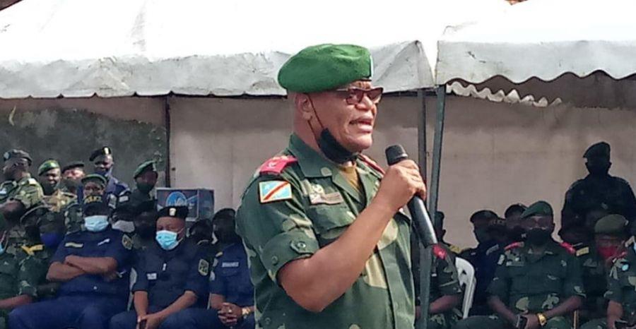 Etat de siège : Le gouverneur militaire constant Ndima s'installe à Beni
