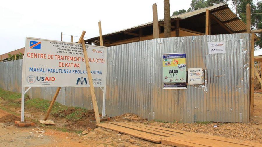 Ebola-Butembo: Grève des prestataires de la riposte au centre de traitement Ebola de Katwa