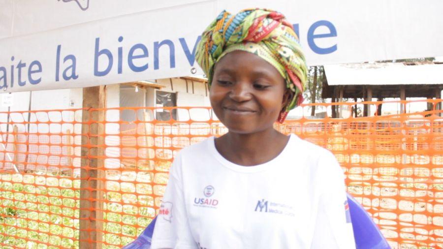 Ebola-Butembo: une nouvelle guérie libérée au CTE de Katwa