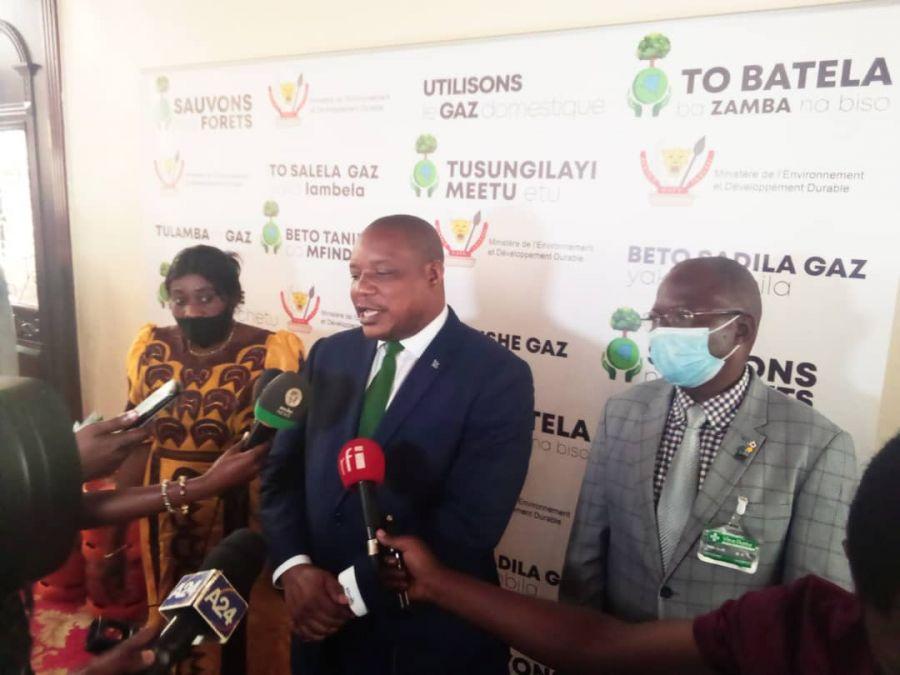 """RDC : Lancement de la deuxième phase de la campagne """"Sauvons nos forets"""""""