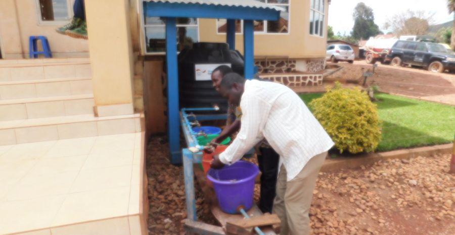 Butembo : Au-delà d'Ebola, se laver les mains prévient d'autres maladies