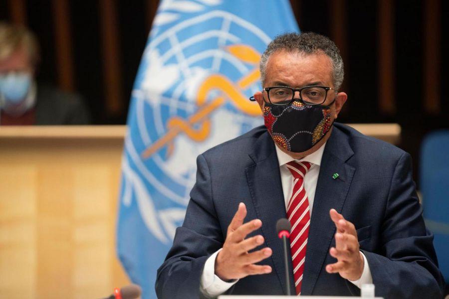 COVID-19 : le chef de l'OMS appelle les pays à redoubler d'efforts