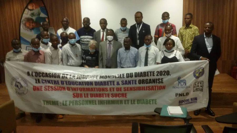 Santé : Des professionnels des medias en session d'information et sensibilisation sur le diabète sucré
