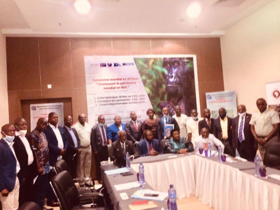 RDC: Les acteurs impliqués dans la Convention du Patrimoine Mondial réunis à Kinshasa pour discuter de sa mise en oeuvre