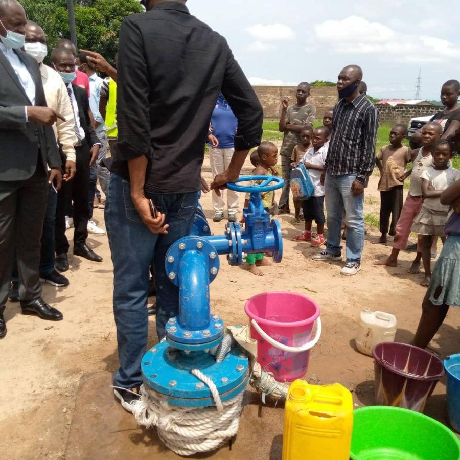 Kinshasa : Deux forages d'eau au profit des populations périphériques