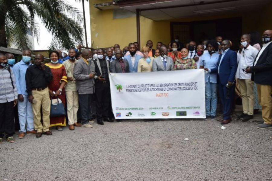 Forêt : Lancement des activités du projet d'appui à la sécurisation des communautés locales en RDC